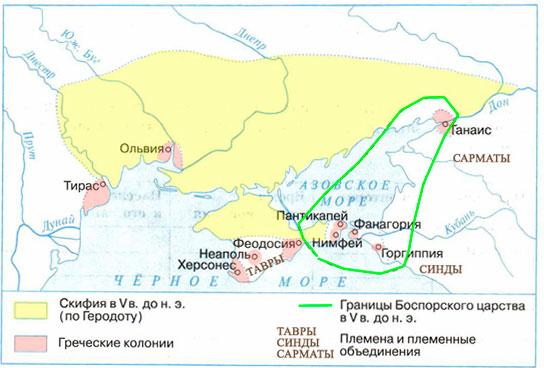 Контурная карта Ответ